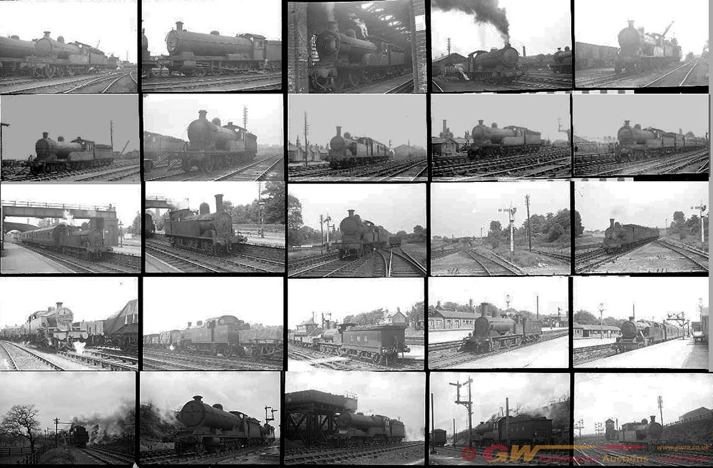 Approximately 115, 35mm Negatives. Includes Crewe