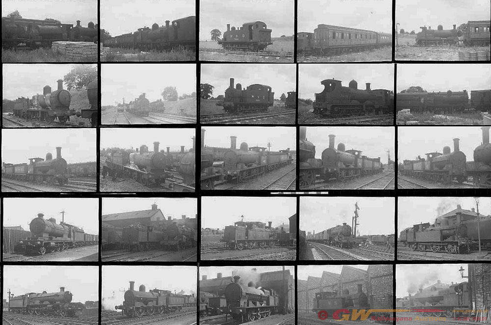 Approximately 43, 35mm Negatives. Includes