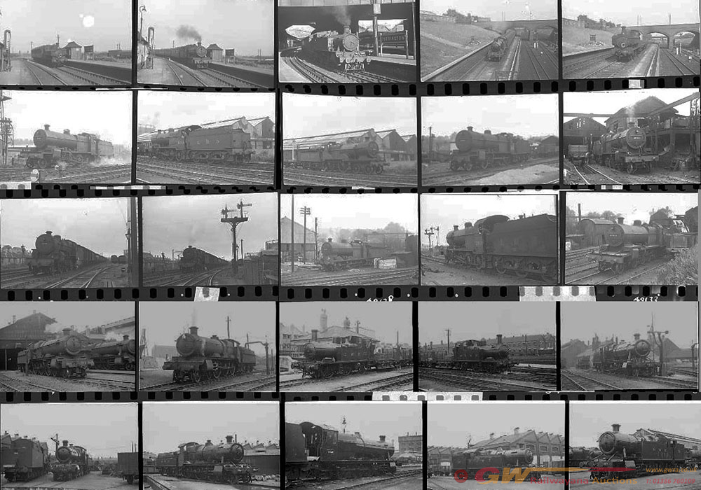 Approximately 96, 35mm Negatives. Includes