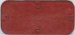 GWR Cast Iron Cabside Numberplate 6141 Ex Collett - select image 2