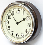 GWR 6 Inch Dial Wall Mounted Clock With A Bakelite - select image 1