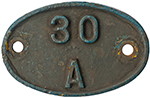 Shedplate 30a Stratford Until 1973. As Fitted To - select image 1