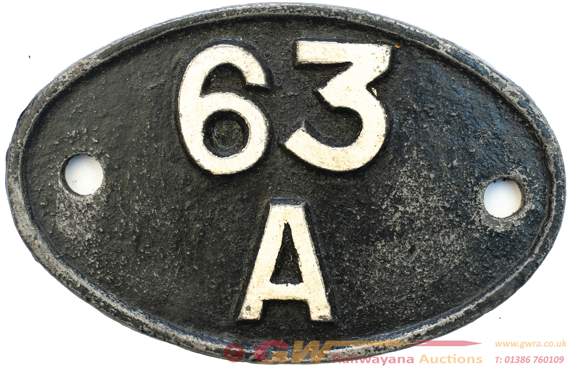 Shedplate 63a Perth 1950-1969 With Sub Sheds