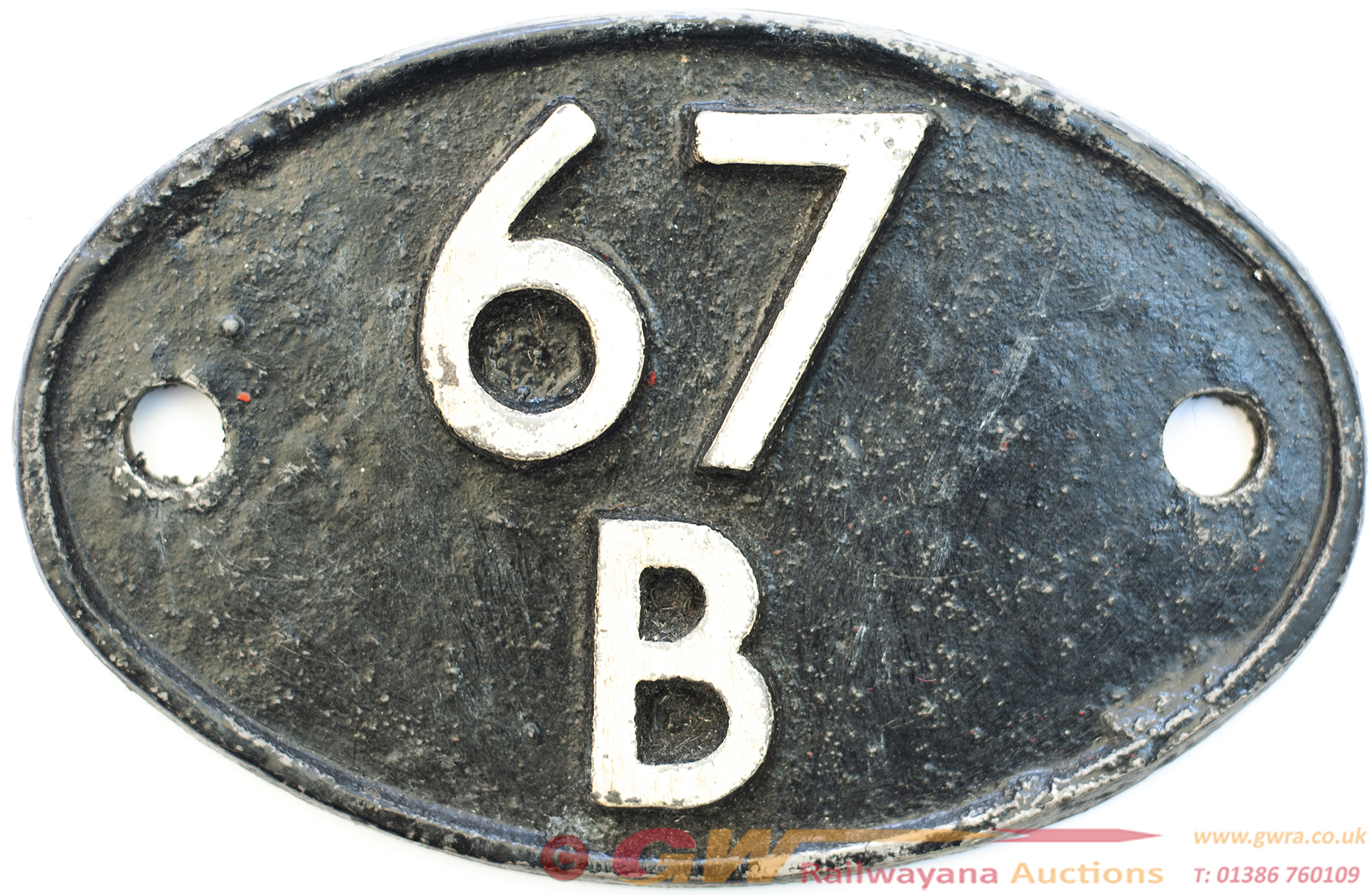 Shedplate 67b Hurlford 1950-1966 With Sub Sheds