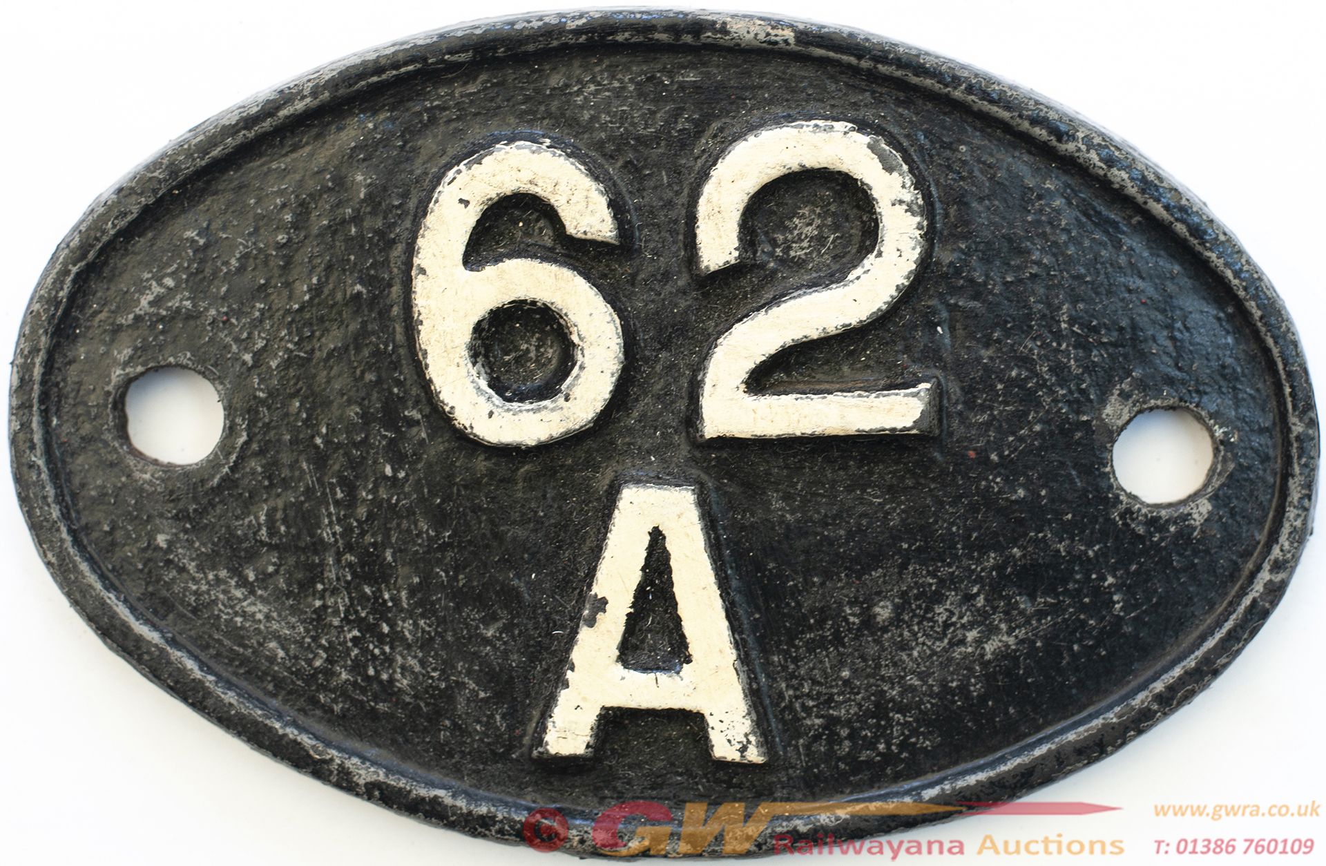 Shedplate 62a Thornton Junction 1950-1969 With Sub