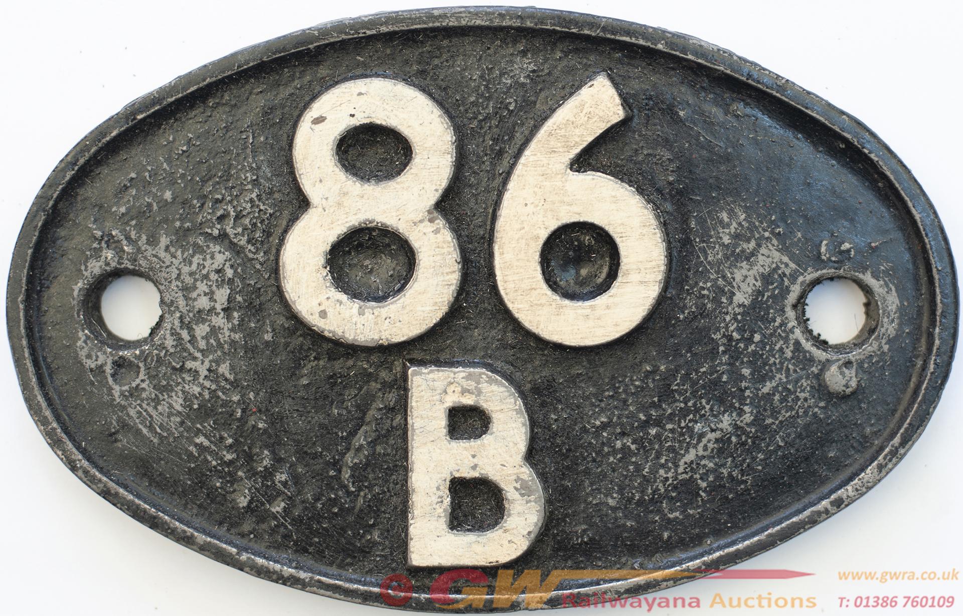 Shedplate 86b Newport Pill 1950-1963, Then Newport
