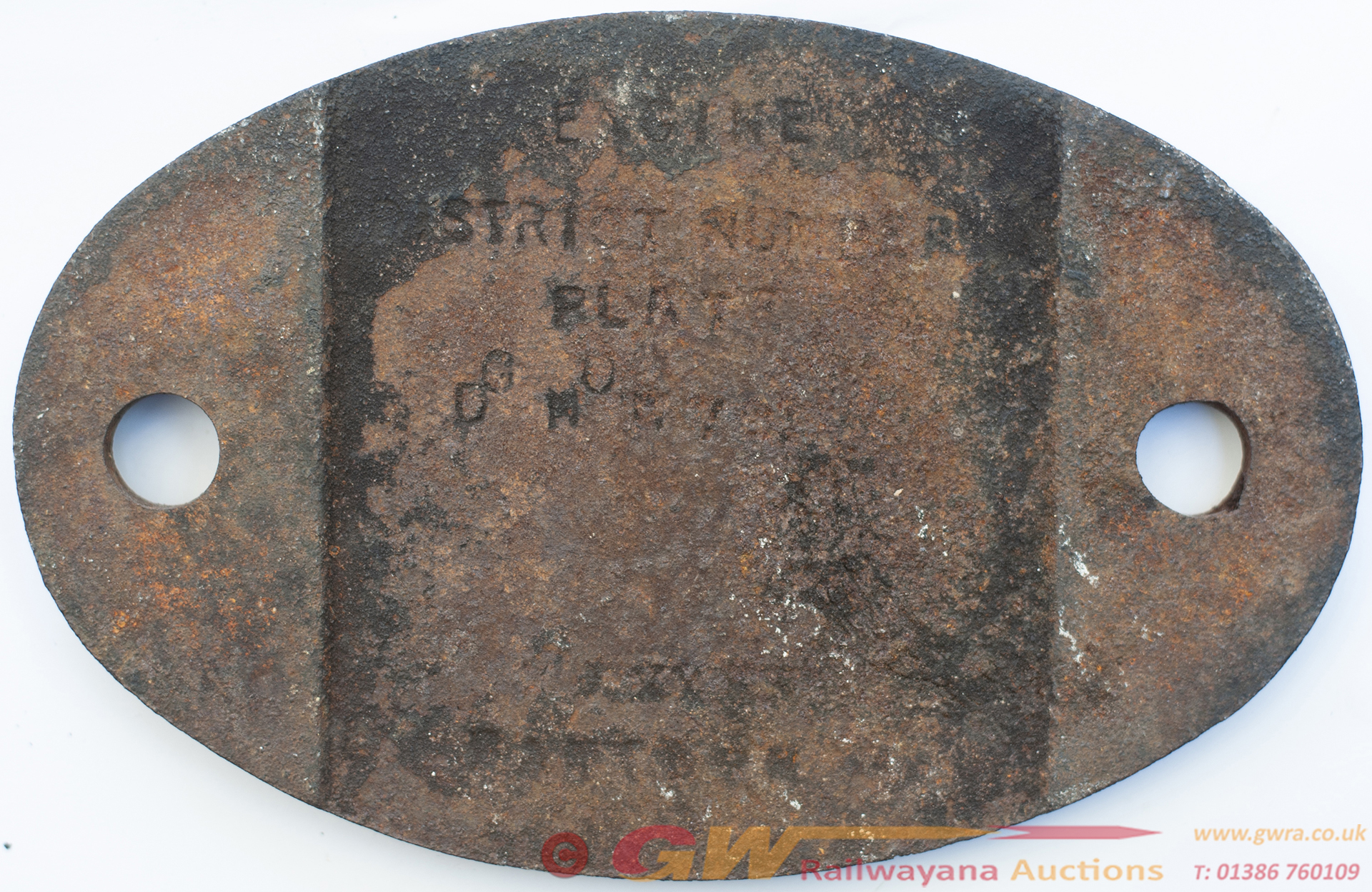 Shedplate 64g Hawick 1950-1966 With Sub Sheds