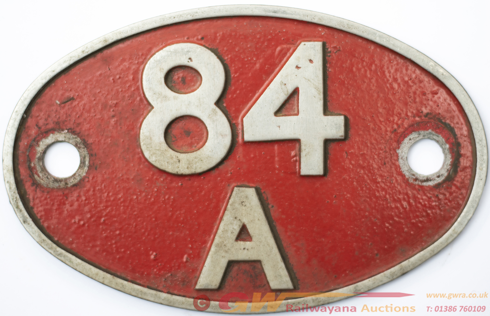 Shedplate Cast Aluminium 84a Plymouth Laira