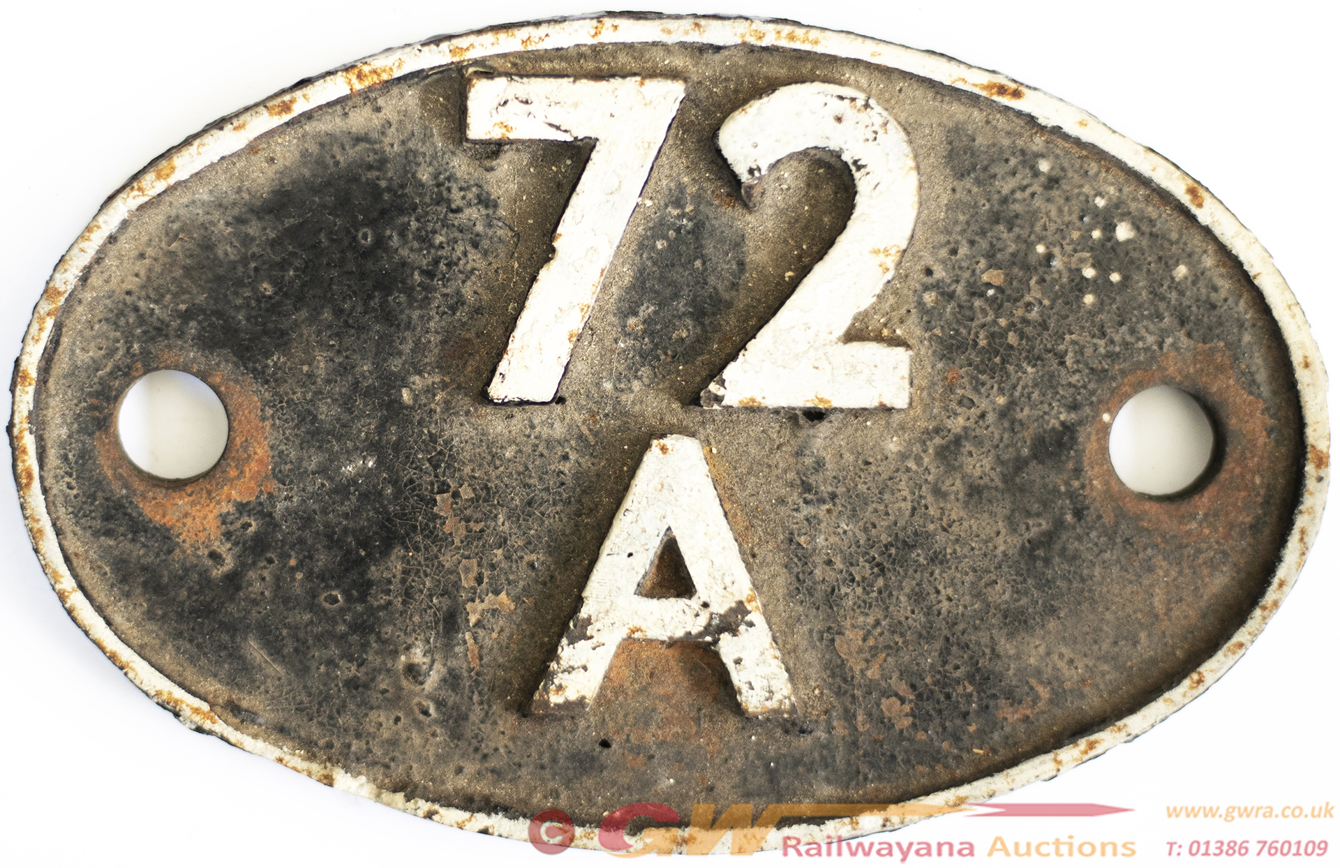 Shedplate 72a Exmouth Junction 1950-1966 With Sub