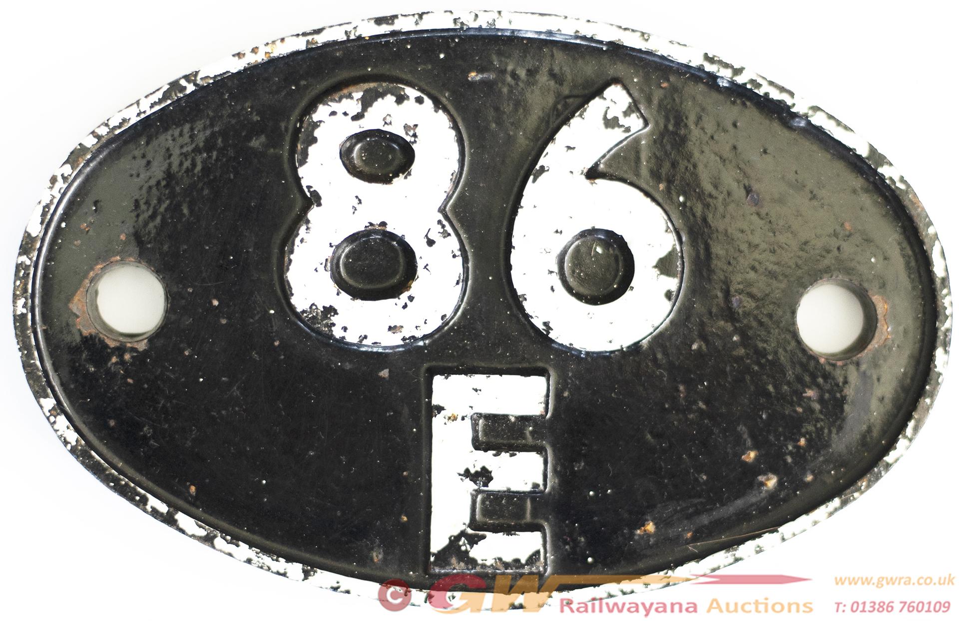 Shedplate 86e Severn Tunnel Junction 1950-1968. In