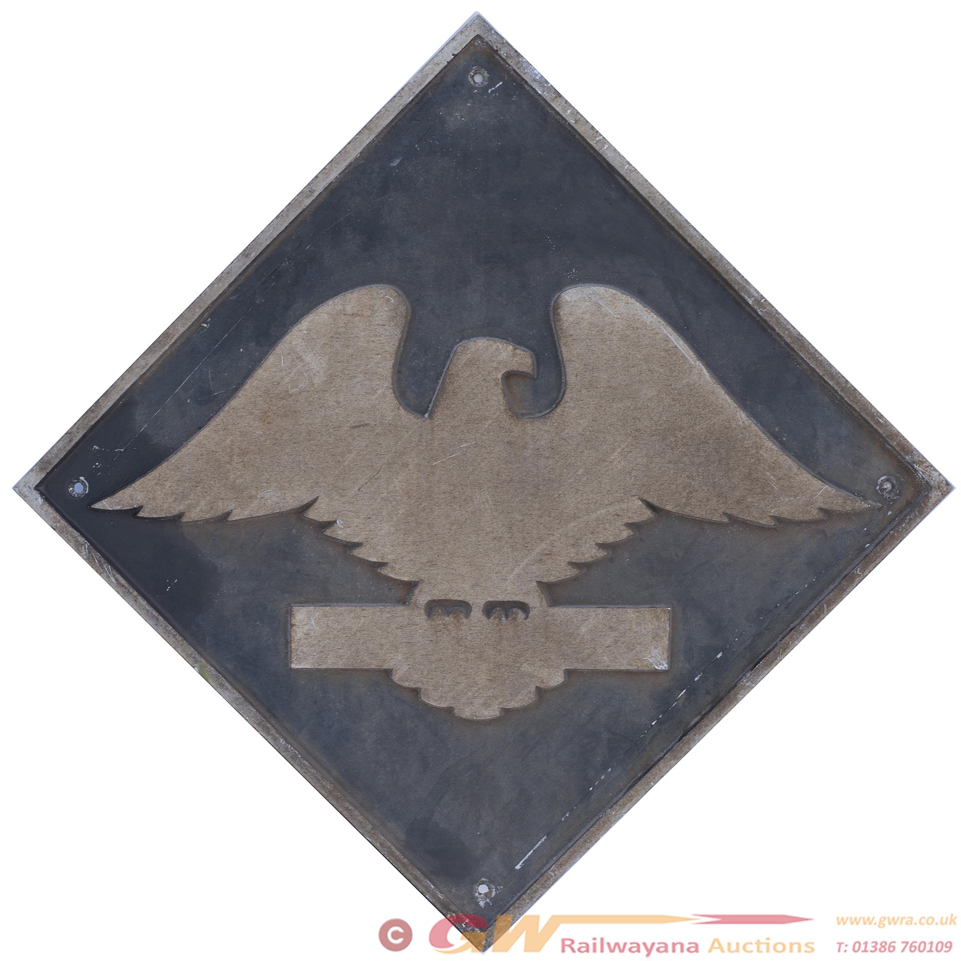 British Railways Cast Aluminium Depot Plaque