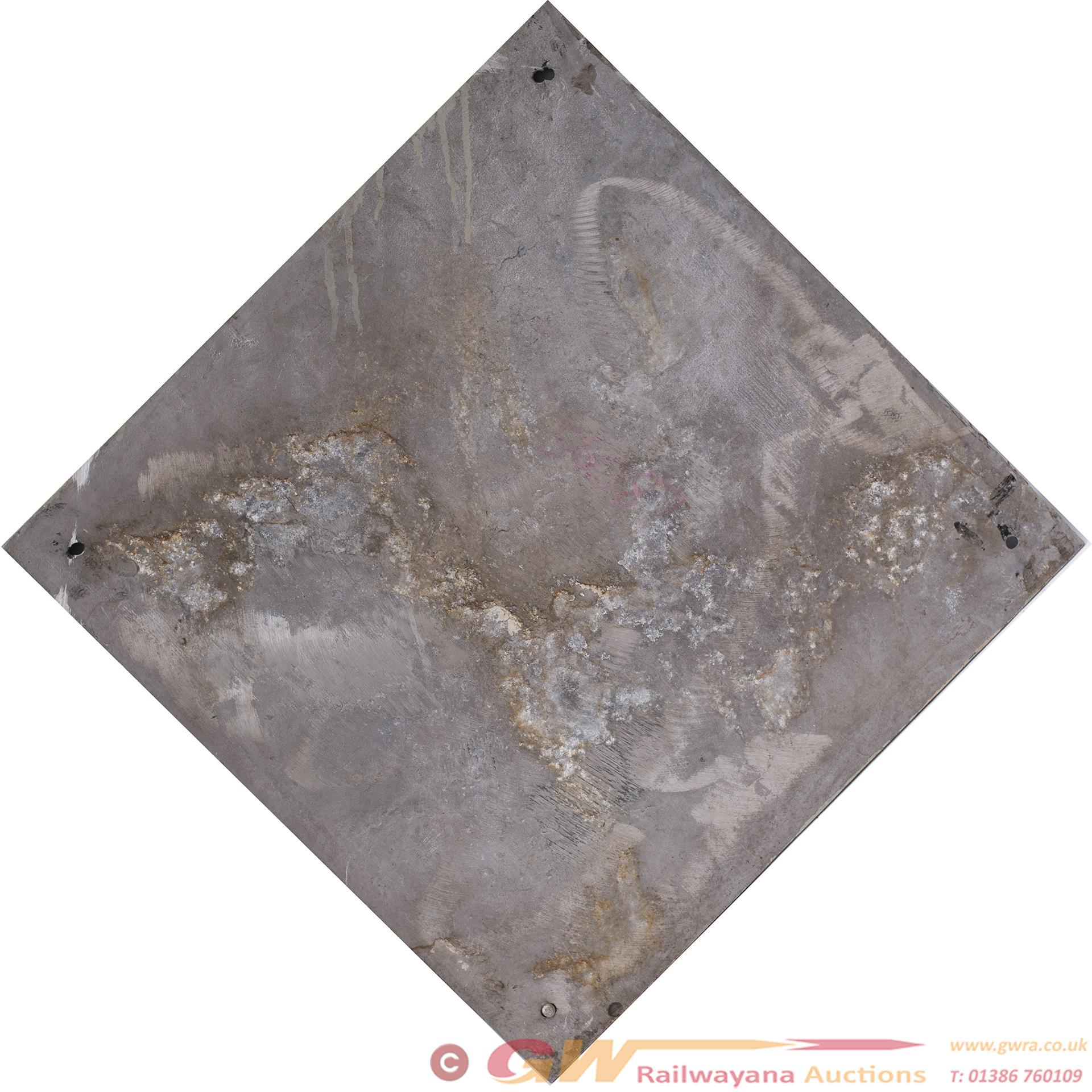 British Railways Cast Aluminium Depot Plaque For