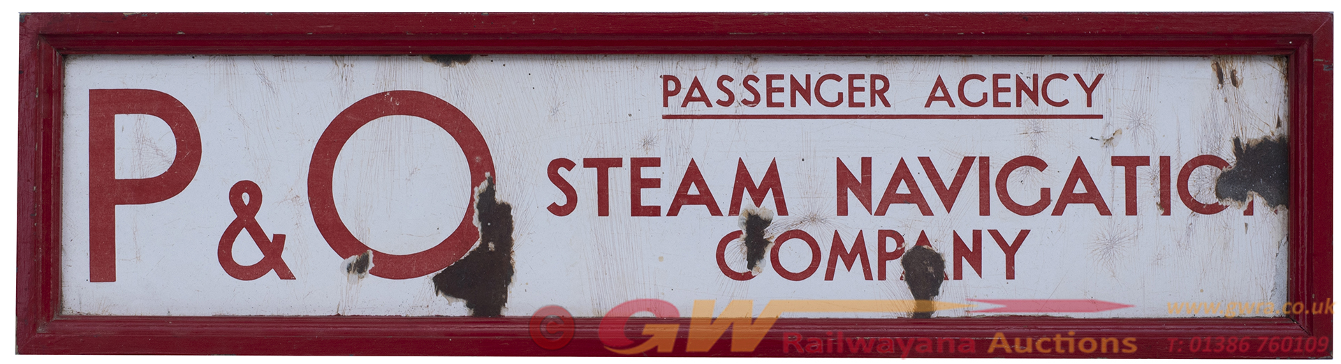 Advertising Shipping Enamel Double Sided Sign