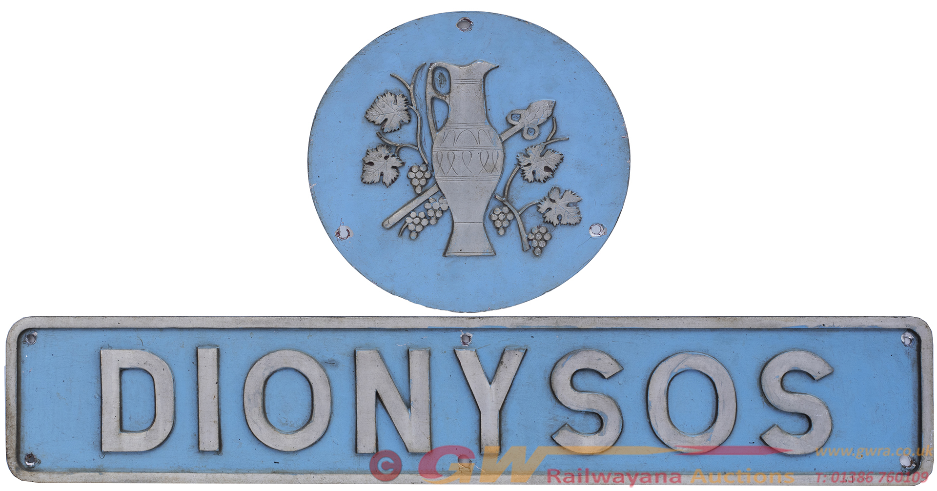Nameplate DIONYSIS And Crest As Carried By