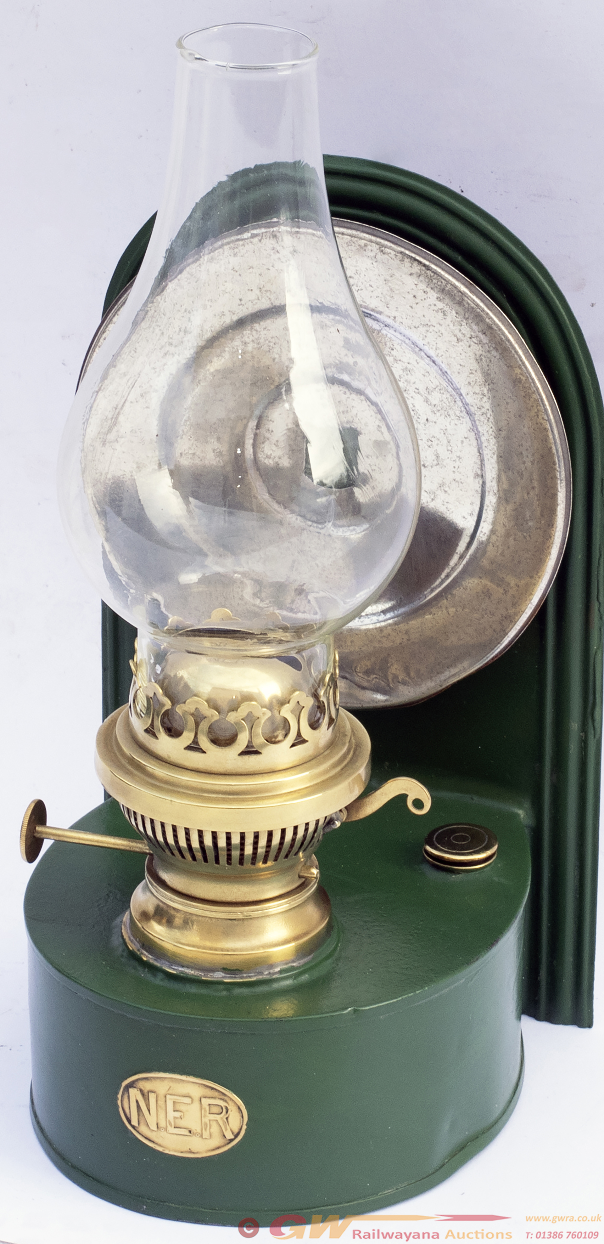 North Eastern Railway Signal Box Lamp Complete