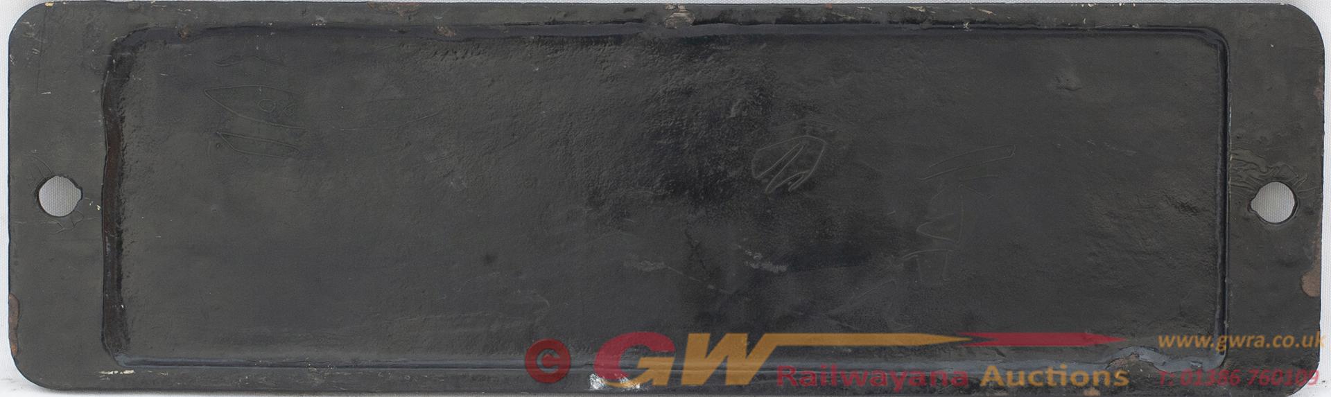 Smokebox Numberplate 6731 Ex GWR Collett 0-6-0 PT