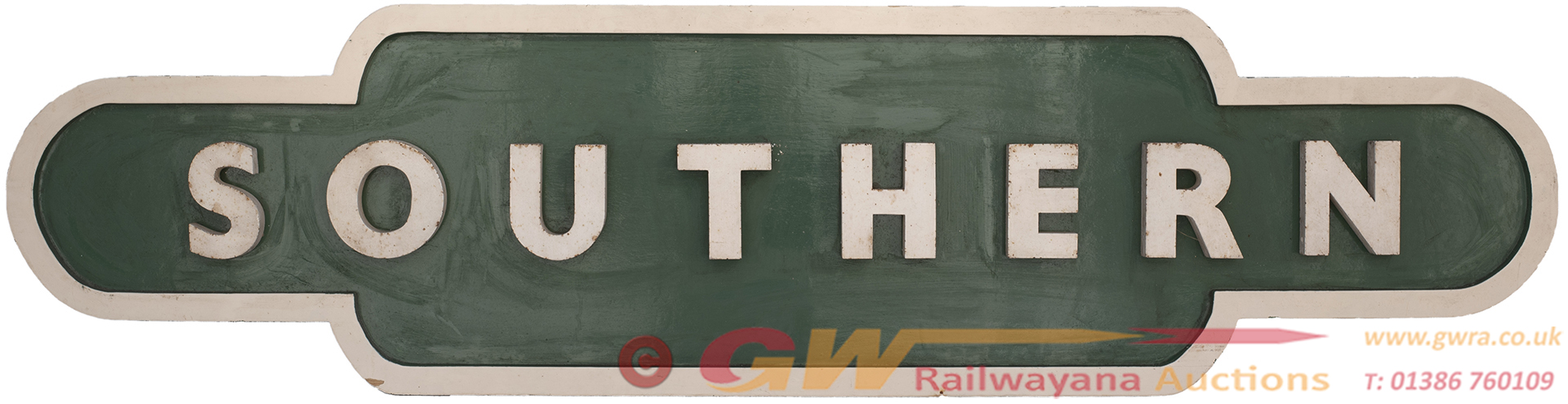 BR(S) Totem Fascia Station Sign SOUTHERN In The