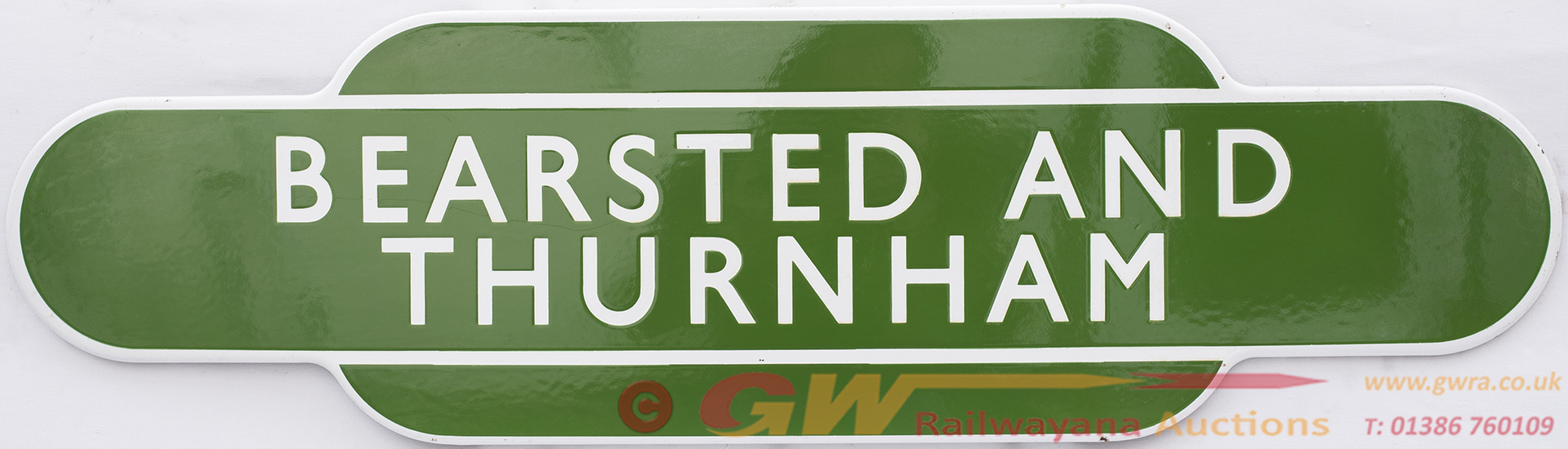 Totem BR(S) FF BEARSTED & THURNHAM From The Former