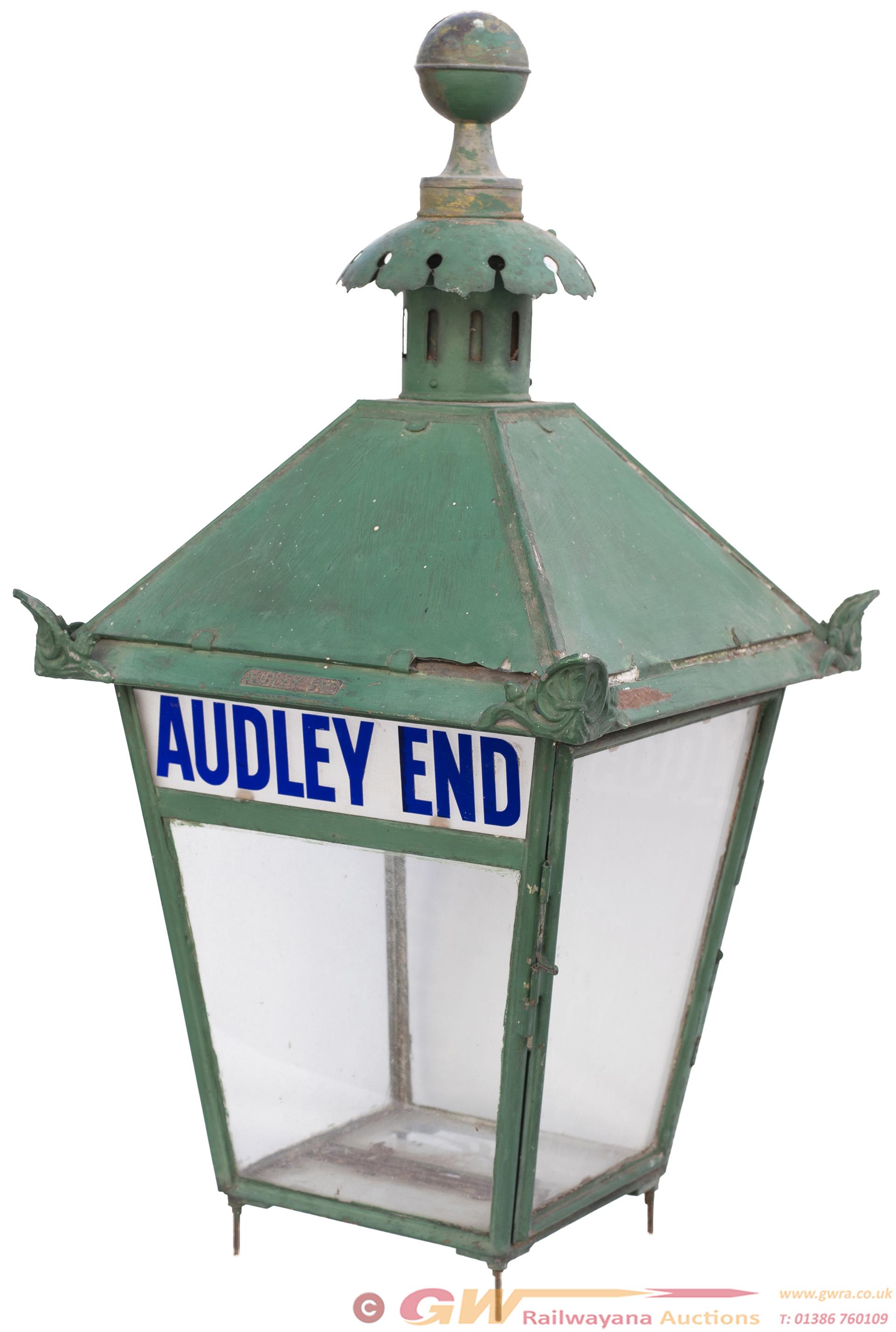 Great Eastern Railway Platform Lamp With Original