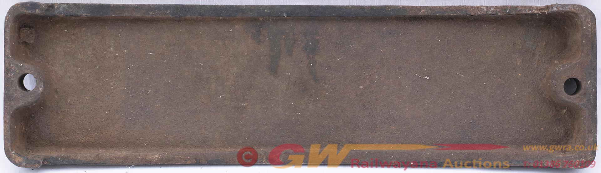 Smokebox Numberplate 64487 Ex North British