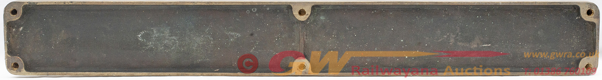 Nameplate CLAN MACLEOD Ex British Railways Riddles