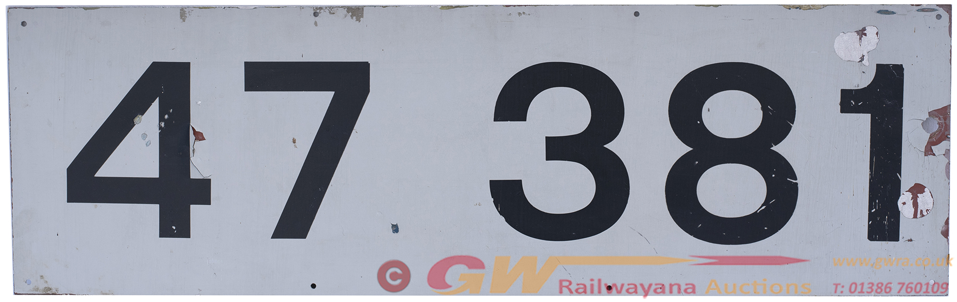 Diesel Sawcut Cabside 47381 Ex British Railways