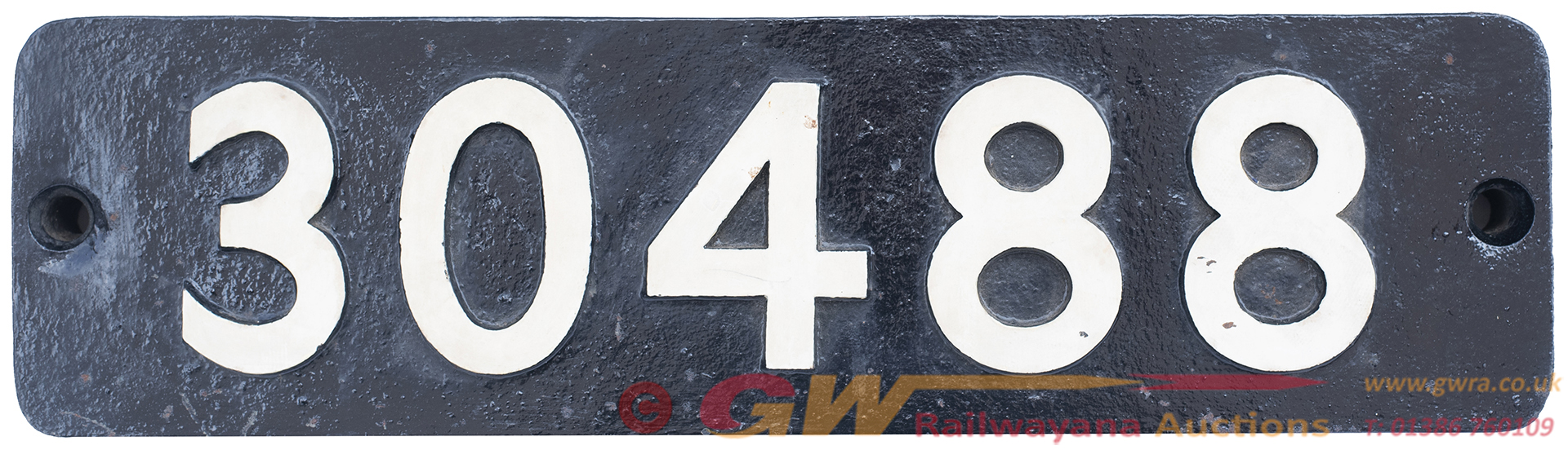 Smokebox Numberplate 30488 Ex LSWR Urie h15 Built