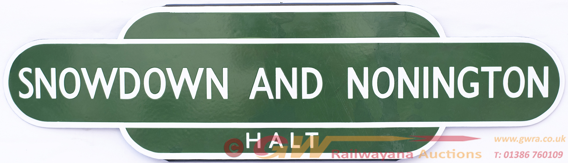Totem BR(S) HF SNOWDOWN AND NONNINGTON HALT From