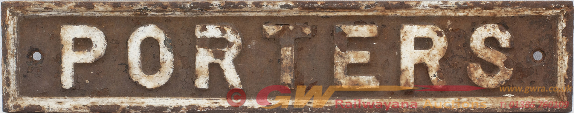 Great Western Railway Pre Grouping Cast Iron