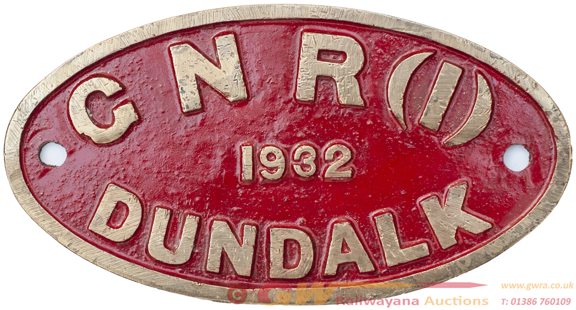 Tenderplate GNR(I) 1932 DUNDALK Possibly Ex 4-4-0