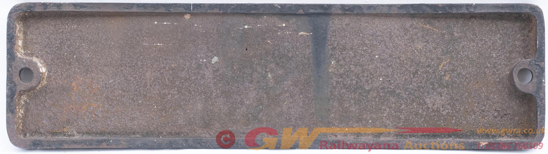 Smokebox Numberplate 43910 Ex MR Fowler 4f 0-6-0