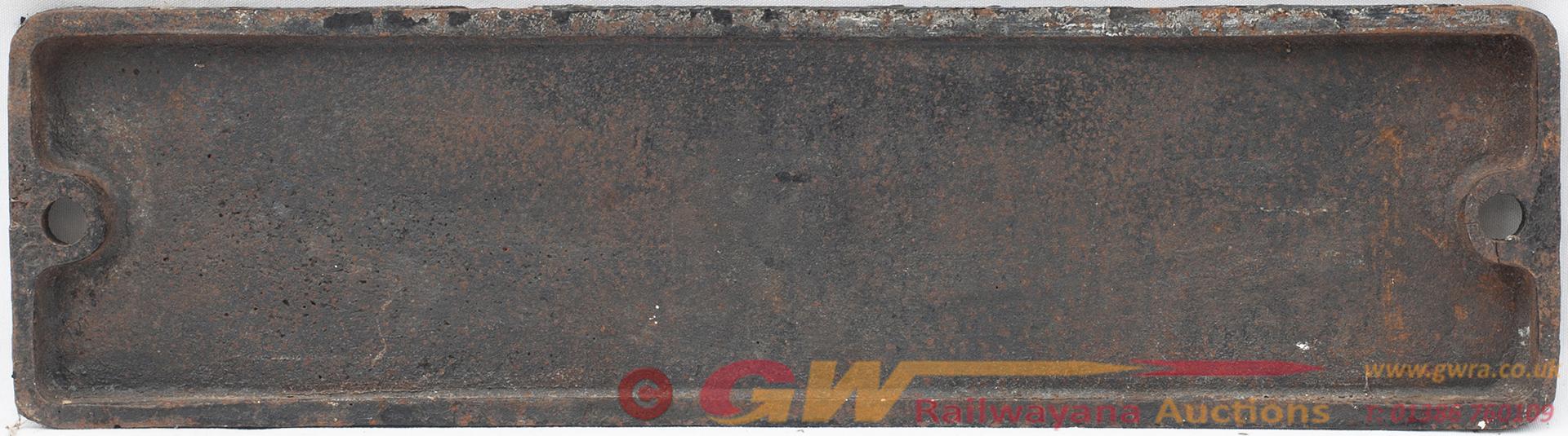 Smokebox Numberplate 44540 Ex LMS Fowler 4f 0-6-0