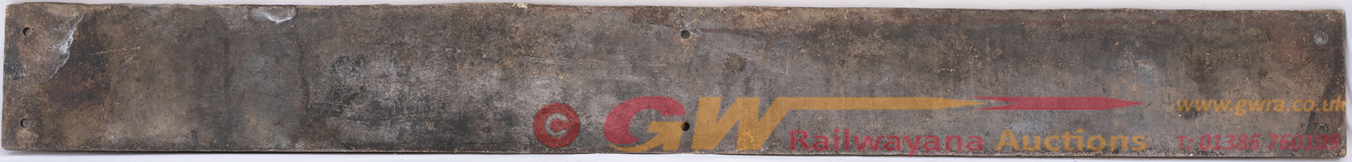 Nameplate SIR GEOFFREY ARCHER EX East African