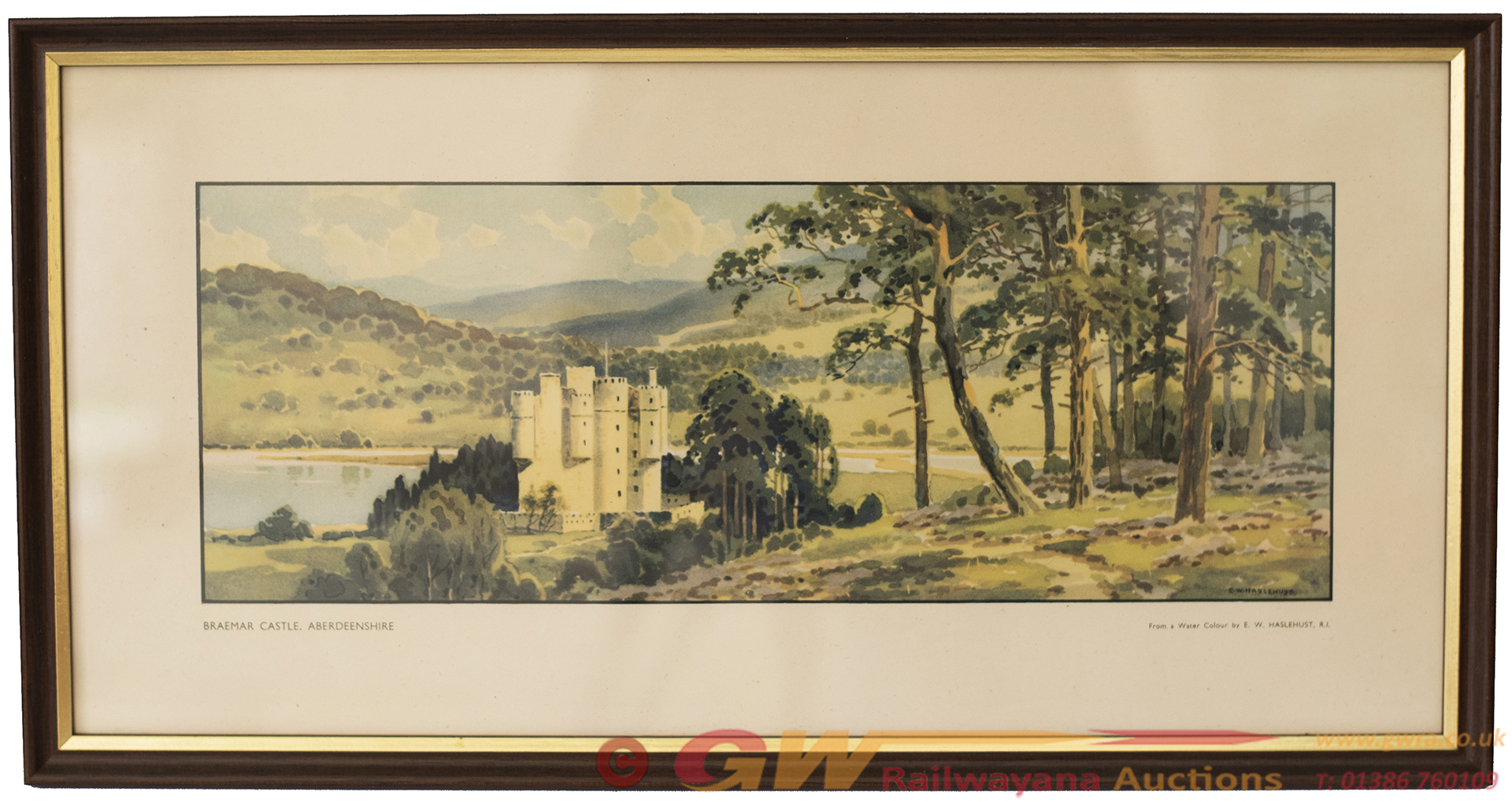 Carriage Print BRAEMAR CASTLE ABERDEENSHIRE By