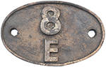 Shedplate 8e Northwich 1958-1968. In Lightly - select image 1