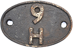 Shedplate 9h Patricroft. In Lightly Cleaned - select image 1