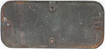 Great Western Railway Brass Cabside Numberplate - select image 2