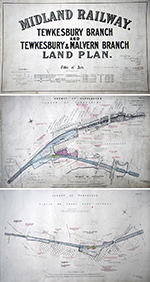 Midland Railway Official Hand Coloured Plans For - select image 1
