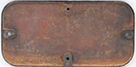 GWR Cast Iron Cabside Numberplate GWR 382 Ex Taff - select image 2