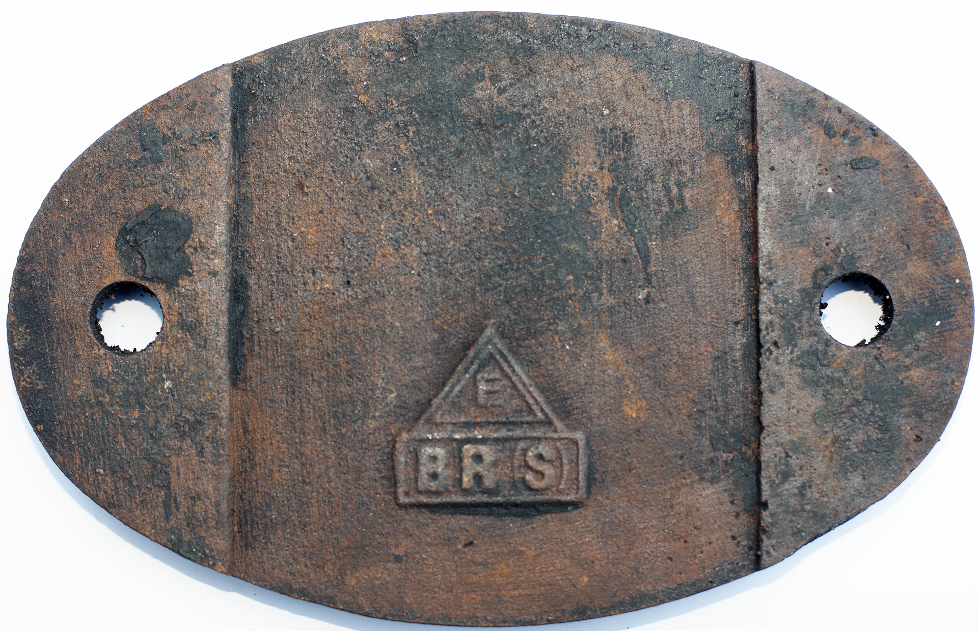 Shedplate 75b Redhill 1950-1965 With A Sub Shed Of