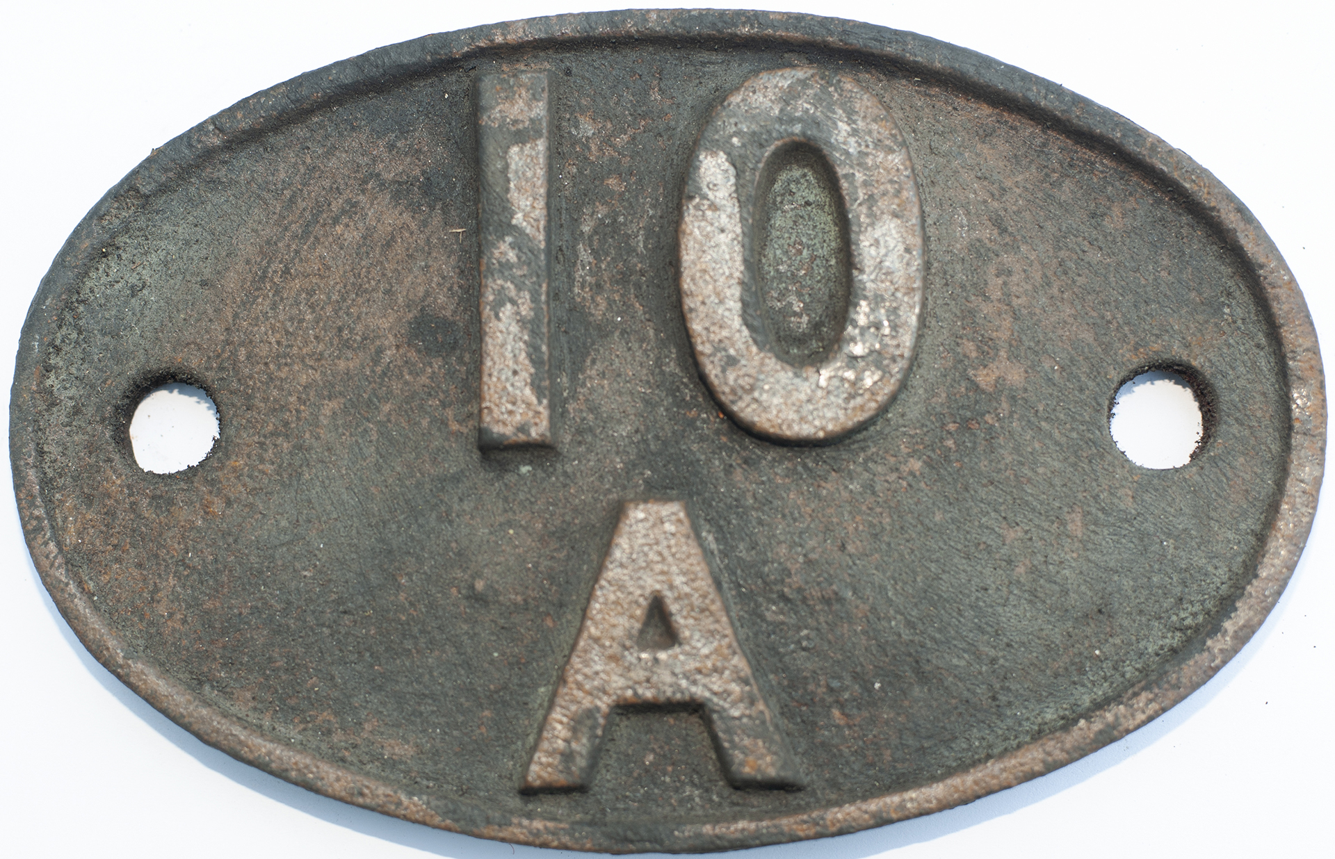 Shedplate 10a Wigan Springs Branch 1950-1958 And