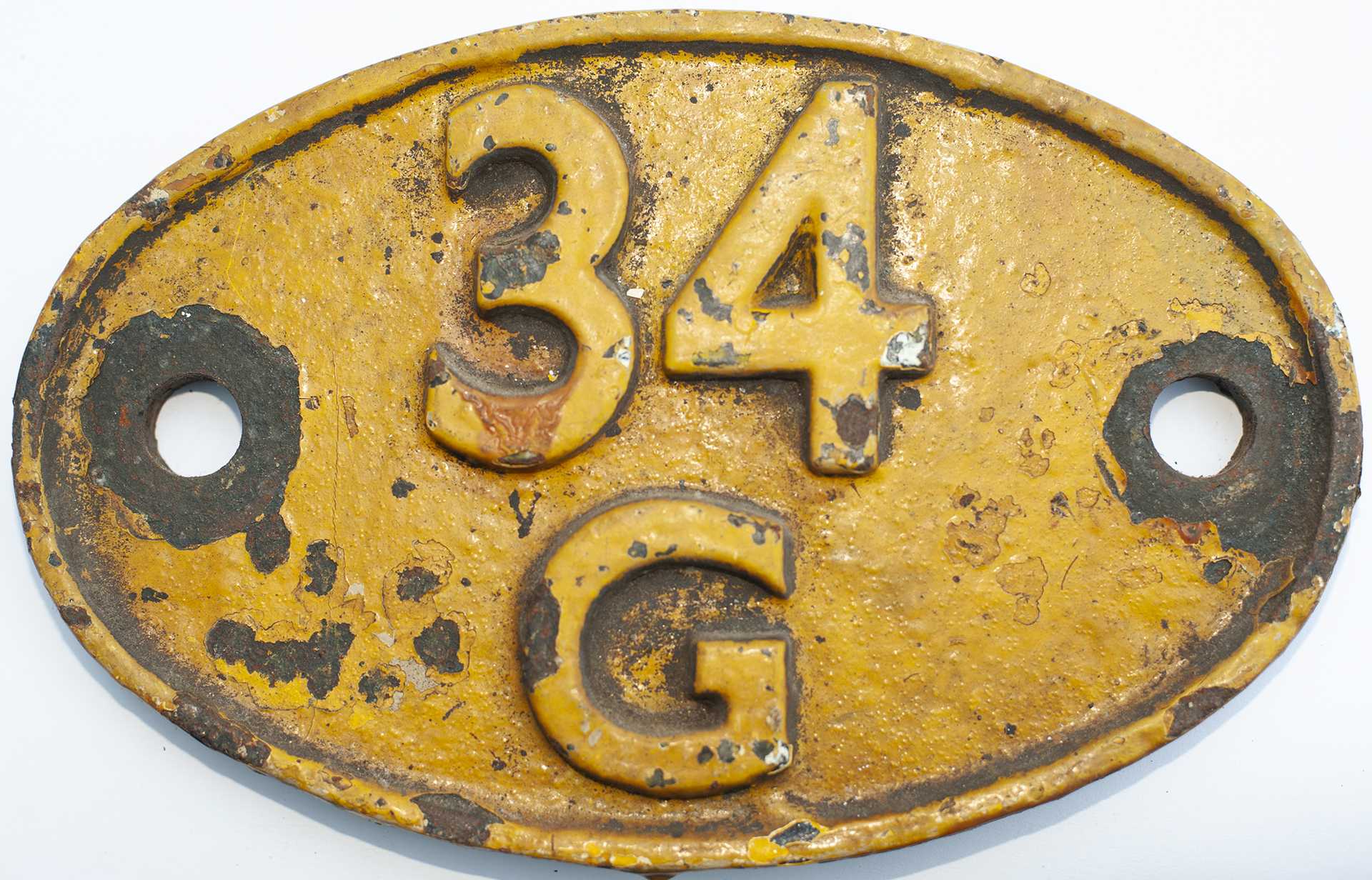 Shedplate 34g Finsbury Park 1960-1973 With A Sub