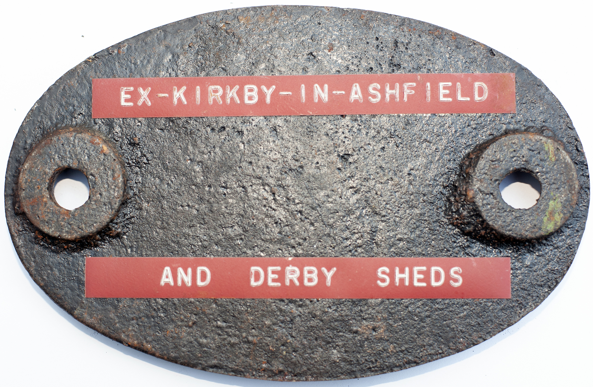 Shedplate 16c Kirkby-In-Ashfield 1950-1955,