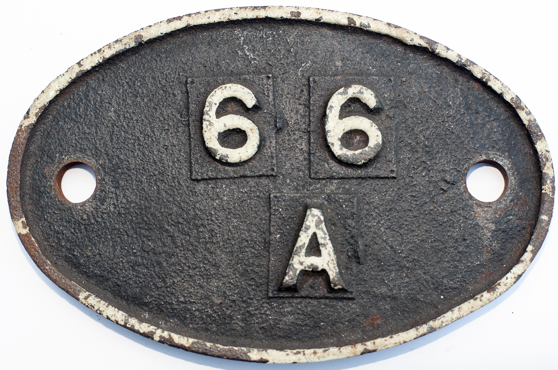 Shedplate 66a Polmadie 1950-1972 With Sub Sheds Of