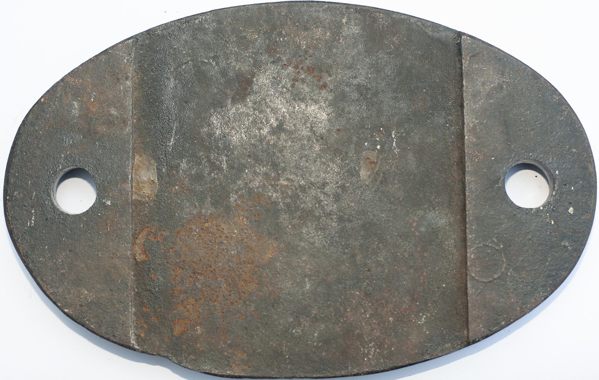 <P>Shedplate 87c Danygraig 1950-1964. In As