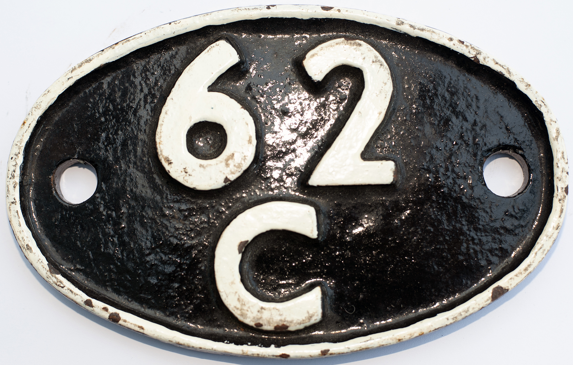 Shedplate 62c Dunfermline 1950-1966 With Sub