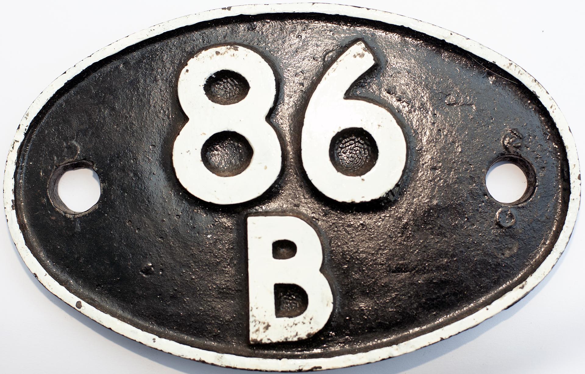 Shedplate 86b Newport Pill 1950-1963 And Newport