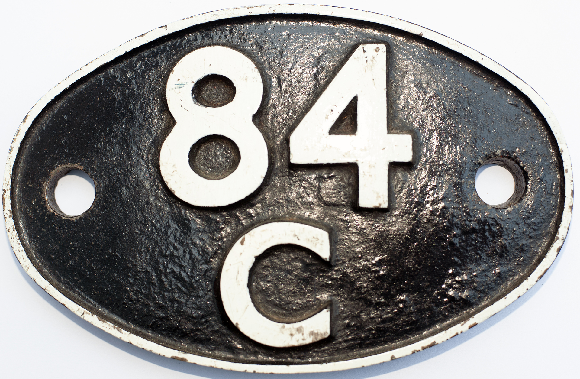 Shedplate 84c Banbury 1950-1963  And Truro
