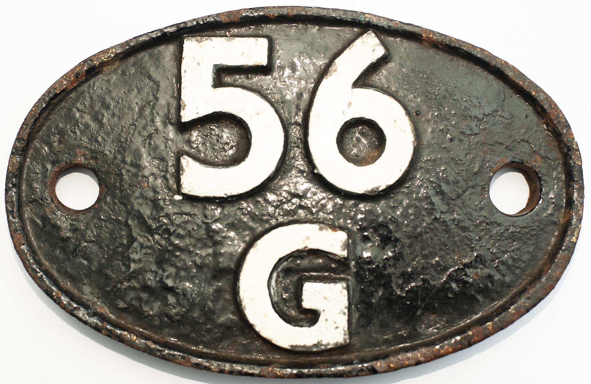 Shedplate 56g Bradford Hammerton Street 1956-1958.