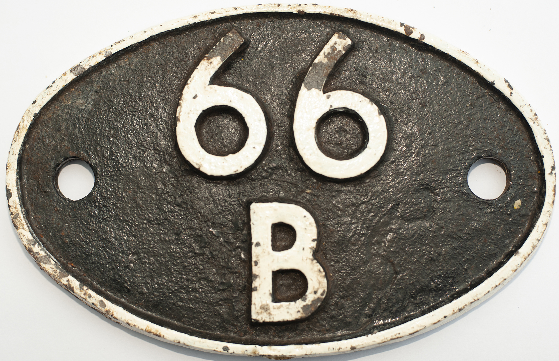 Shedplate 66b Motherwell 1950-1963 With Sub Shed